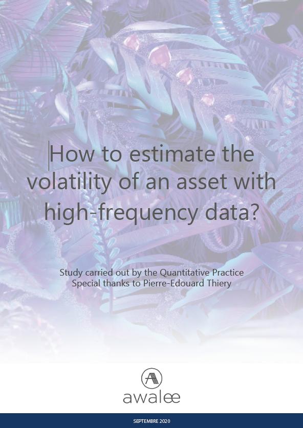 Estimation de volatilité en haute fréquence