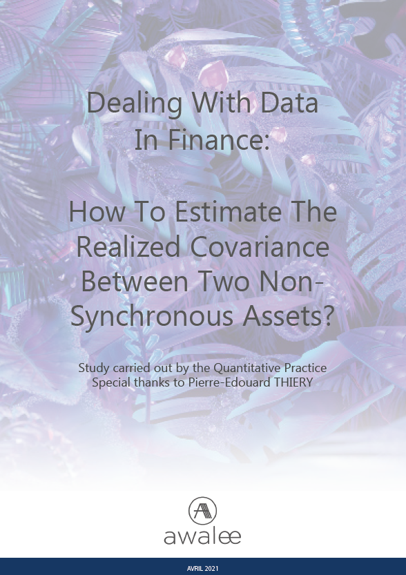Dealing With Data In Finance: How To Estimate The Realized Covariance Between Two Non- Synchronous Assets?